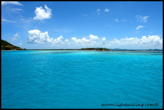 Union Island lagon