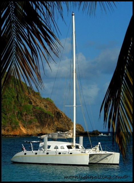 Anchorage in the Grenadines