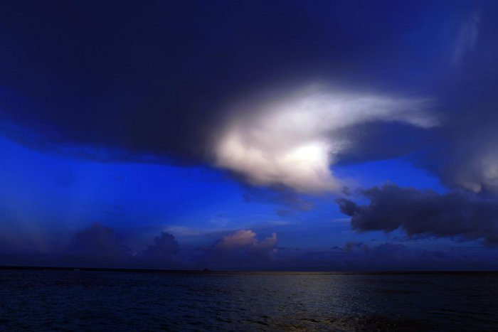 Cloud in the Caribbean