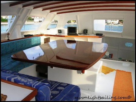 saloon catamaran