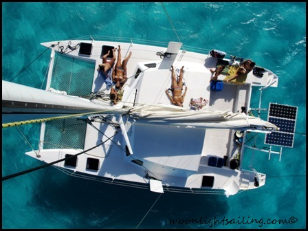 deck catamaran grenadines