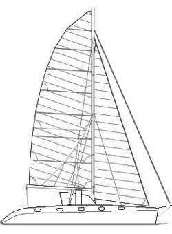 Naval Architecture on Catamaran Voilier Dessin Bateau Architecte Naval Martinique Antilles